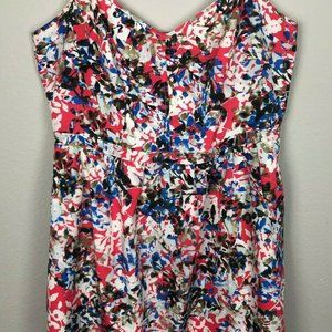 J. CREW Women's sz 14 Seaside Cami Dress Floral